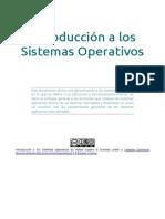 Introducción a Los Sistemas Operativos