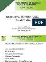 04 - Dimensionamento Viga Bi-Apoiada