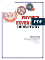 The Physics Fever 2015 Directory