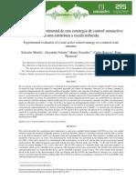 Evaluación Experimental de Una Estrategia de Control Semiactivo