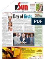 The Sun Malaysia Cover (21 April 2008)