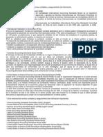 Principales Organismos Emisores de Normas Contables y Aseguramiento de Información