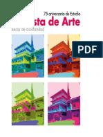 Catálogo I Subasta de Arte del Colegio Estudio