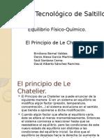 El principio de Le Chatelier
