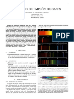 Practica1 - Espectro de Emision de Gases