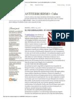 Radio Reloj -Antiterrorismo- Cuba_ El Neoliberalismo_ Su Origen