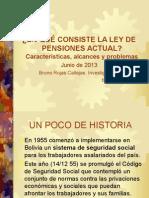 Analisis Actual Ley Pensiones 65 2013