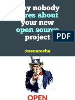 Why nobody cares about your open source project