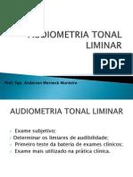 Audiometria Tonal Liminar..