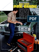 Car Care Guide - Popular Mechanics - Oct 1980