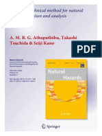 A New Geotechnical method for natural slope analysis.....