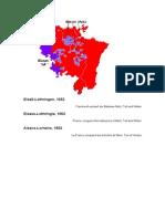 Die Eroberung Elsass-Lothringes Durch Frankreich