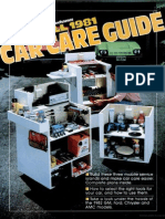 Car Care Guide - Popular Mechanics - Oct 1981