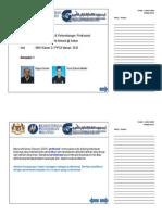 Nota Slaid Pembentangan EDU3083 Kumpulan 1