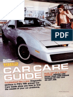 Car Care Guide - Popular Mechanics - May 1982
