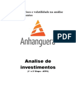 Atps Analise de Investimentos Pronta