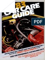 Car Care Guide - Popular Mechanics - May 1983