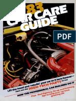 Car Care Guide - Popular Mechanics - May 1983