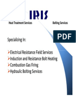 Heat Treatment and Bolt Heating Presentation