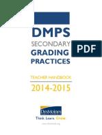 dmps grading handbook 14-15