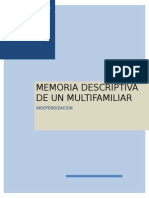 Memoria Descriptiva Independizacion Final