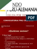 Presentacion Convocatoria C6L1 2015 FCPA