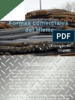 Presentacion, Formas Comerciales Del Hierro