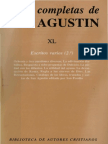 San Agustin. Obras completas. Volumen - 40. Escritos Varios 02