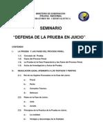 Defensa de La Prueba en Juicio