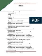 Exportaciones e Importaciones (Informe Final)