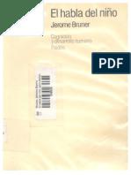 El Habla Del Niño - Jerome Bruner