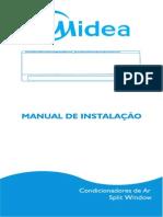 Installation Manual Split Window