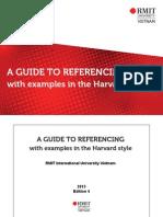 Harvard Referencing Guide Jan 2013