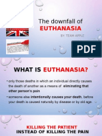 The Downfall of EUTHANASIA