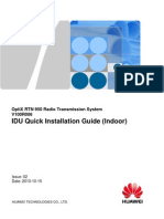 Huawei OptiX RTN 950 IDU Quick Installation Guide(V100R006)