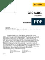 Manual Fluke 302