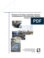 1.-Guidelines for the Design Construction Operation, And Maintenance of Small Wastewater Treatment Facilities With Land Disposal