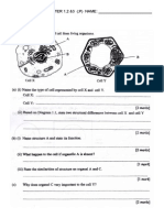 Test Biology Form 4 Chapter 123