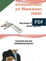 Inovasi Kewirausahaan & Wawasan HAKI