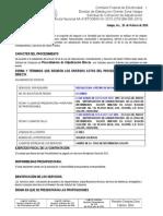 Adn Cfe-bm-005-2015 Recoleccion y Retiro de Basura