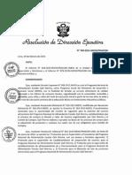Protocolo de Supervisión de Establecimiento de Proveedores