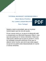 Tutorial Microsoft Expresion Web 4