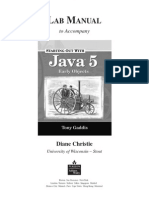 Lab Manual JAVA EO
