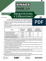 2014 ENADE Arquitetura Urbanismo