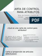 Carta de Control Para Atributos