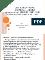 Analisa Kerentanan Berdasarkan Indeks Kerentanan Pesisir (IKP)