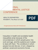 The Impact of Social Determinants on Health Disparities
