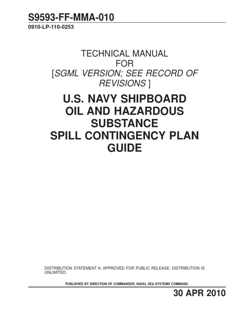 Us navy shipboard oil spill contingency plan soscp guidance us navy shipboard oil spill contingency plan soscp guidance oil spill occupational safety and health nvjuhfo Choice Image