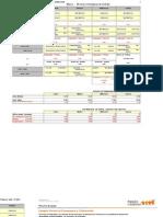 matriz cálculo de horas docentes