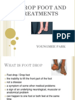 Drop Foot Treatments